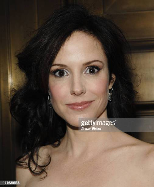 MaryLouise Parker attends 3rd Annual Worldwide Orphans Benefit Gala on October 15 2007 at Cipriani Wall Street in New York City