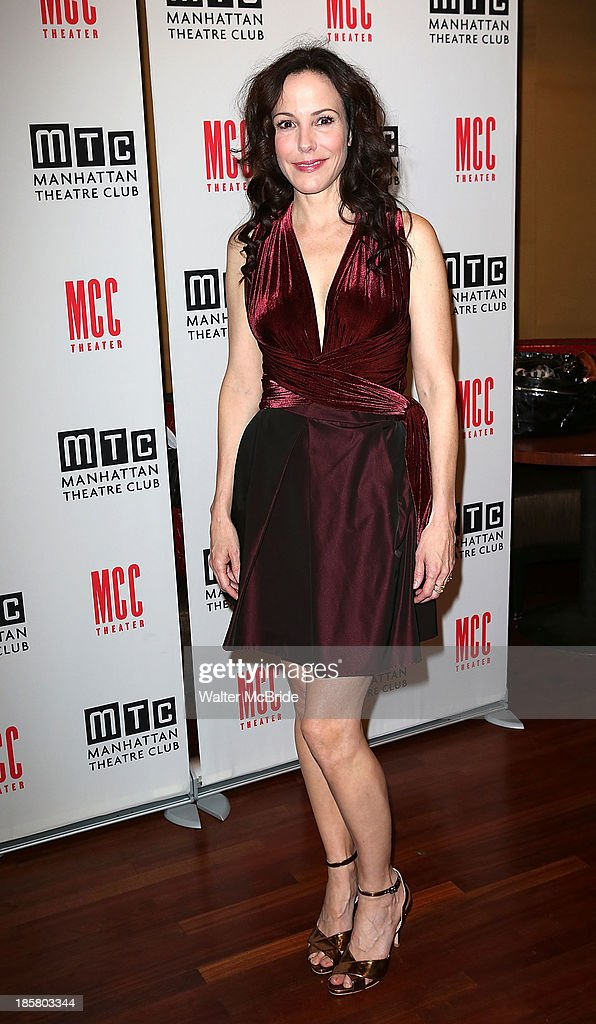 Mary-Louise Parker attends the Broadway Opening Night After Party for 'The Snow Geese'' at Copacabana on October 24, 2013 in New York City.