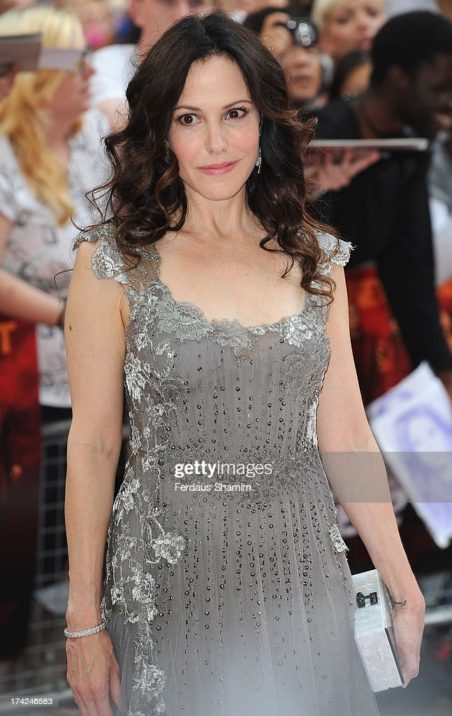 Mary-Louise Parker attends the European Premiere of 'Red 2' at Empire Leicester Square on July 22, 2013 in London, England.