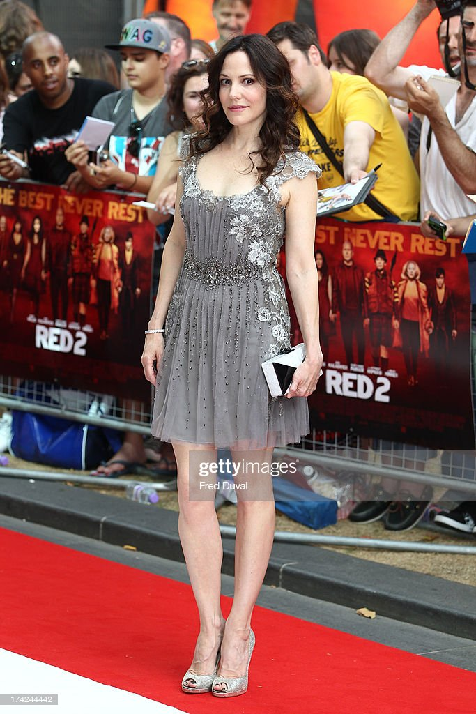 Mary-Louise Parker attends the Red 2 Premiere at Empire Leicester Square on July 22, 2013 in London, England.