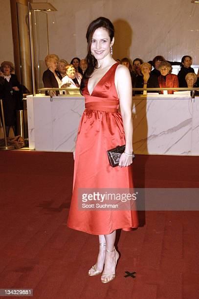 MaryLouise Parker during 2005 Kennedy Center Honors at Kennedy Center Opera House in Washington DC United States