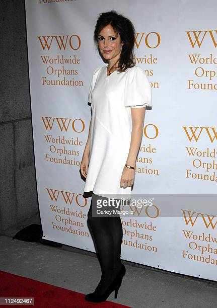 MaryLouise Parker during Second Annual Worldwide Orphans Foundation Benefit Gala at Cipriani Wall Street in New York City New York United States