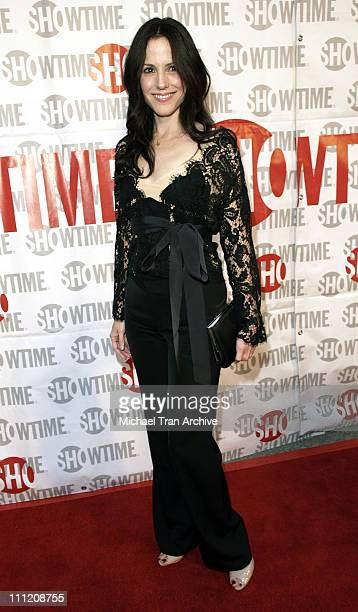 MaryLouise Parker during Showtime Presents 'Weeds' and 'Barbershop' Los Angeles Premiere at Paramount Theater At Paramount Studios in Hollywood...