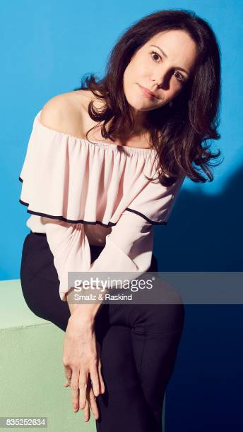 MaryLouise Parker of Audience Network's 'MrMercedes' poses for a portrait during the 2017 Summer Television Critics Association Press Tour at The...