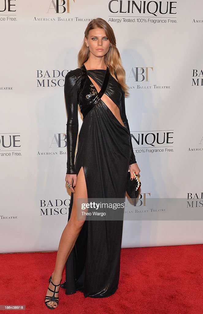 Maryn Linchuk attends American Ballet Theatre 2013 Opening Night Fall gala at David Koch Theatre at Lincoln Center on October 30, 2013 in New York City.