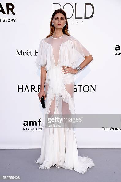 Maryna Linchuk arrives at amfAR's 23rd Cinema Against AIDS Gala at Hotel du CapEdenRoc on May 19 2016 in Cap d'Antibes France