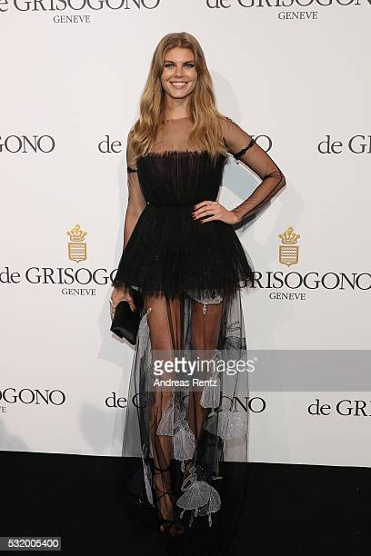Maryna Linchuk attends the De Grisogono Party during the annual 69th Cannes Film Festival at Hotel du CapEdenRoc on May 17 2016 in Cap d'Antibes...