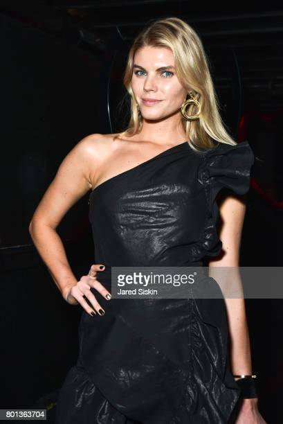 Maryna Linchuk attends The Dom Perignon Vintage Trinity Launch Party at 17 Irving Place on June 22 2017 in New York City