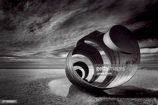 Mary's shell, Cleveleys, Lancashire, UK