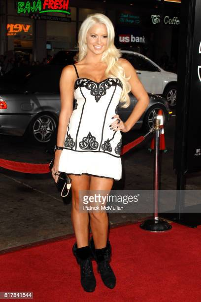 Maryse Ouellet attends 'Jackass 3D' Premiere at Mann's Chinese Theater on October 13 2010 in Hollywood California
