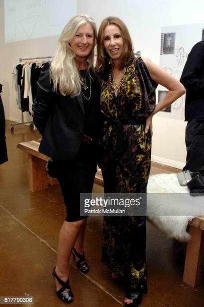 Marysia Woroniecka and Madeline Stuart attend Zero Maria Cornejo LA Store Opening Party at Zero Maria Cornejo Store on October 14 2010 in Los Angeles...