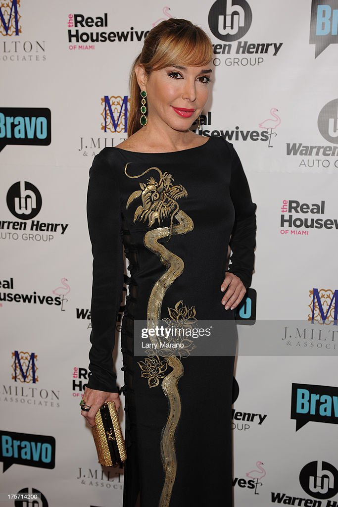 <a gi-track='captionPersonalityLinkClicked' href=/galleries/search?phrase=Marysol+Patton&family=editorial&specificpeople=4422681 ng-click='$event.stopPropagation()'>Marysol Patton</a> attends 'The Real Housewives of Miami' season 3 premiere party on August 6, 2013 in Miami, Florida.