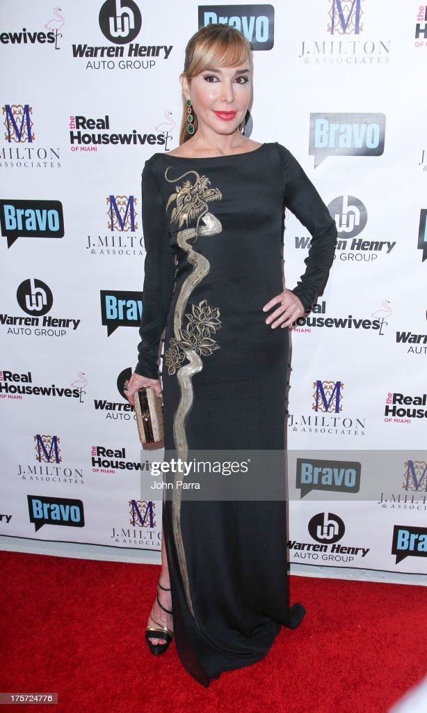 Marysol Patton attends The Real Housewives of Miami Season 3 Premiere Party on August 6, 2013 in Miami, Florida.