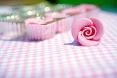 Marzipan rose