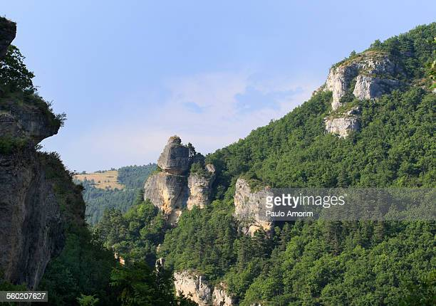 Mas Montet mountain in south of France