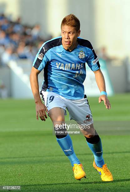 Masahiko Inoha of Jubilo Iwata in action during the JLeague second division match between Omiya Ardija and Jubilo Iwata at Nack 5 Stadium Omiya on...