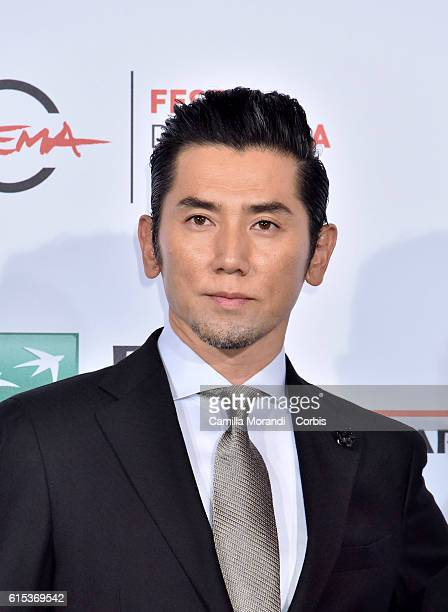 Masahiro Motoki attends a photocall for 'Nagai Iiwake The Long Excuse' during the 11th Rome Film Festival on October 18 2016 in Rome Italy