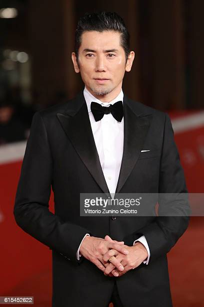 Masahiro Motoki walks a red carpet for 'Nagai Iiwake The Long Excuse' during the 11th Rome Film Festival at Auditorium Parco Della Musica on October...