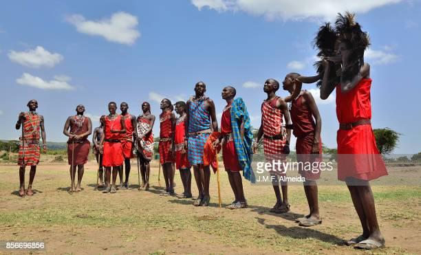 Masai ceremonial dance