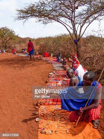 Masai Village Market