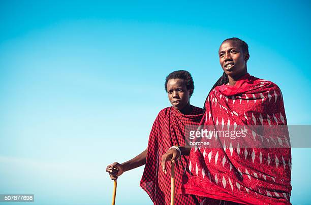 Masai Warriors From Tanzania