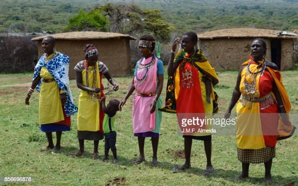 Masai women chanting