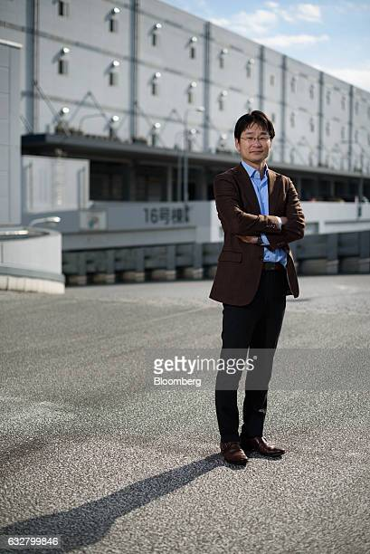 Masaki Takao cofounder and chief executive officer of Jeplan Inc poses for a photograph in Tokyo Japan on Wednesday Jan 18 2017 Jeplan is working to...
