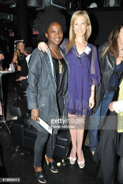 Masala Bowman and Janet MacGillivray Wallace attend RAINFOREST ACTION NETWORK's 25th Anniversary Benefit Hosted by CHRIS NOTH at Le Poisson Rouge on...