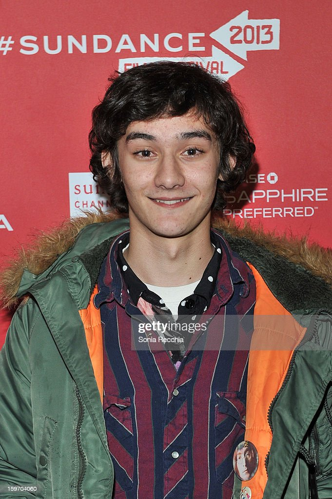 Masam Holden attends 'The Spectacular Now' premiere at Library Center Theater during the 2013 Sundance Film Festival on January 18, 2013 in Park City, Utah.