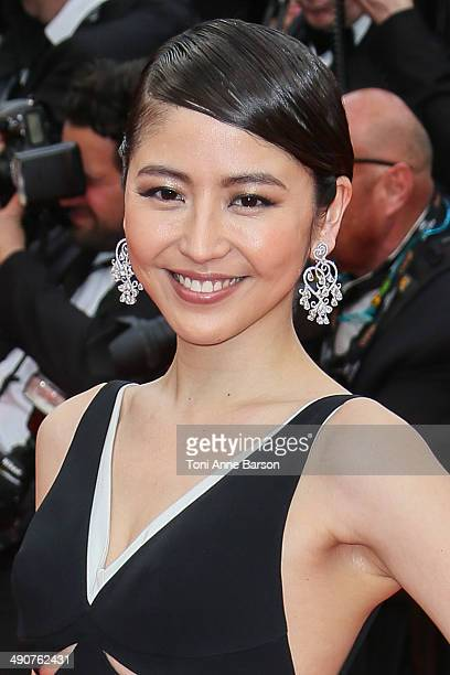 Masami Nagasawa attends the opening ceremony and 'Grace of Monaco' premiere at the 67th Annual Cannes Film Festival on May 14 2014 in Cannes France