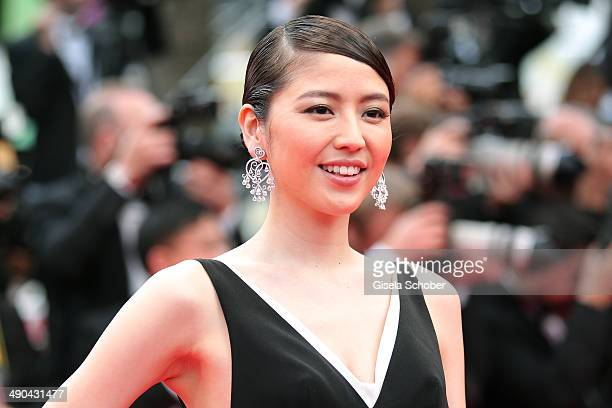 Masami Nagasawa attends the Opening ceremony and the 'Grace of Monaco' Premiere during the 67th Annual Cannes Film Festival on May 14 2014 in Cannes...