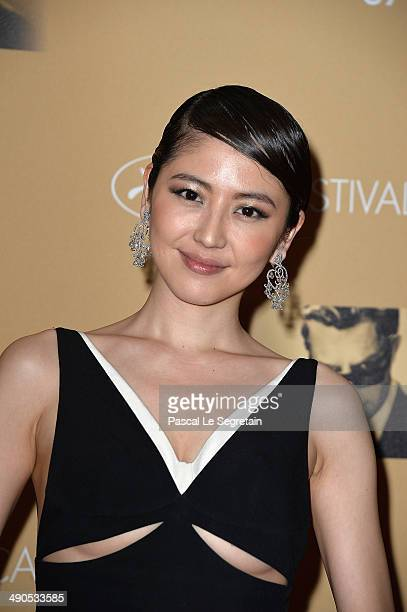 Masami Nagasawa attends the Opening Ceremony dinner during the 67th Annual Cannes Film Festival on May 14 2014 in Cannes France