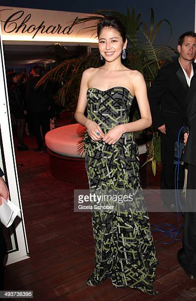Masami Nagasawa Chopard Trophy during the 67th Annual Cannes Film Festival on May 15 2014 in Cannes France