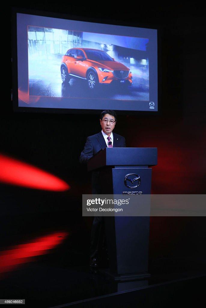 Mazda CEO Kicks Off Los Angeles Hosts Annual Auto Show