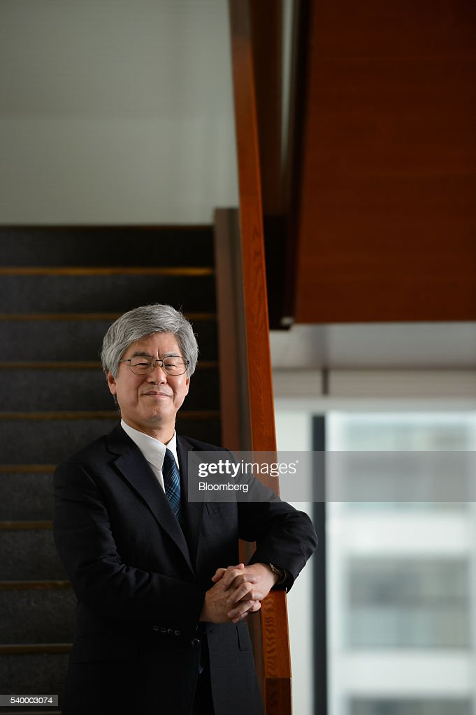 Masanori Koguchi chief financial officer of Mitsubishi Heavy Industries Ltd poses for a photograph in Tokyo Japan on Monday May 13 2016 Mitsubishi...