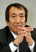 Masao Nakamura President of NTT DoCoMo Inc Japan's largest mobilephone company attends a news conference in Tokyo