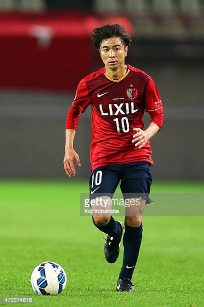 Masashi Motoyama of Kashima Antlers in action during the AFC Champions League Group H match between Kashima Antlers and FC Seoul at Kashima Stadium...