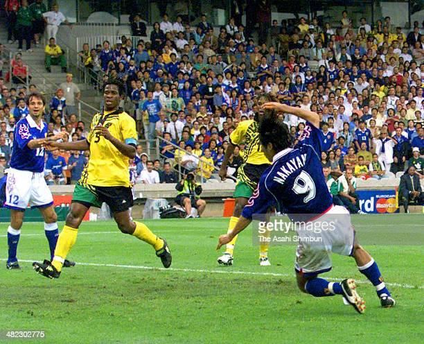 Image result for Masashi Nakayama goal vs Jamaica