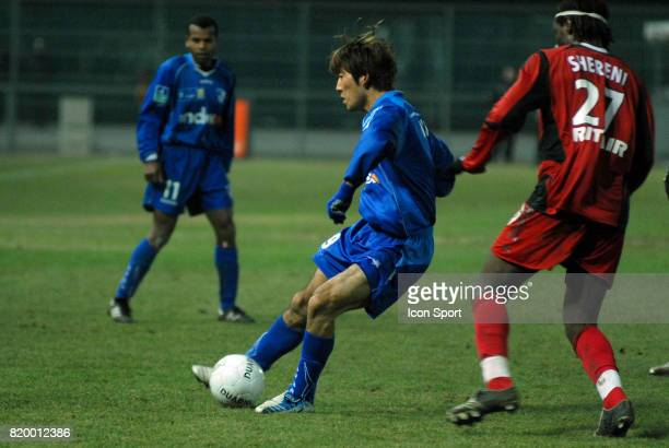Masashi OGURO Grenoble / Guingamp 23eme journee de ligue 2