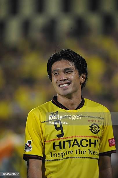 Masato Kudo of Kashiwa Reysol looks on after the JLeague match between Kashiwa Reysol and Matsumoto Yamaga at Hitachi Kashiwa Soccer Stadium on...