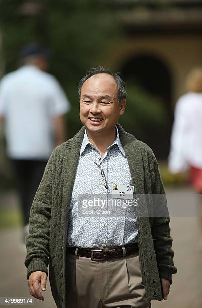 Masayoshi Son founder and chief executive officer of SoftBank the chief executive officer of SoftBank Mobile and current chairman of Sprint...