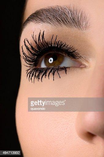 Mascara Closeup