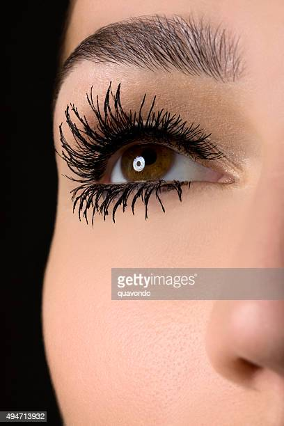 Mascara Closeup