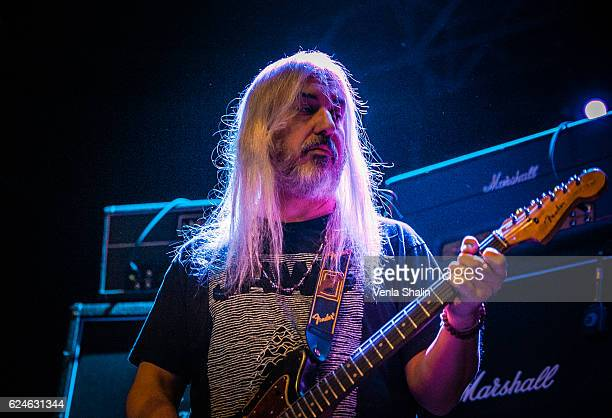 Mascis of Dinosaur JR performs at O2 Forum Kentish Town on November 18 2016 in London United Kingdom