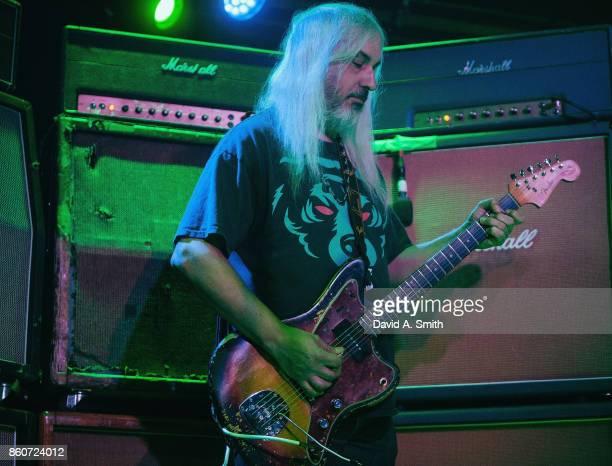 Mascis of Dinosaur Jr performs at Saturn Birmingham on October 12 2017 in Birmingham Alabama