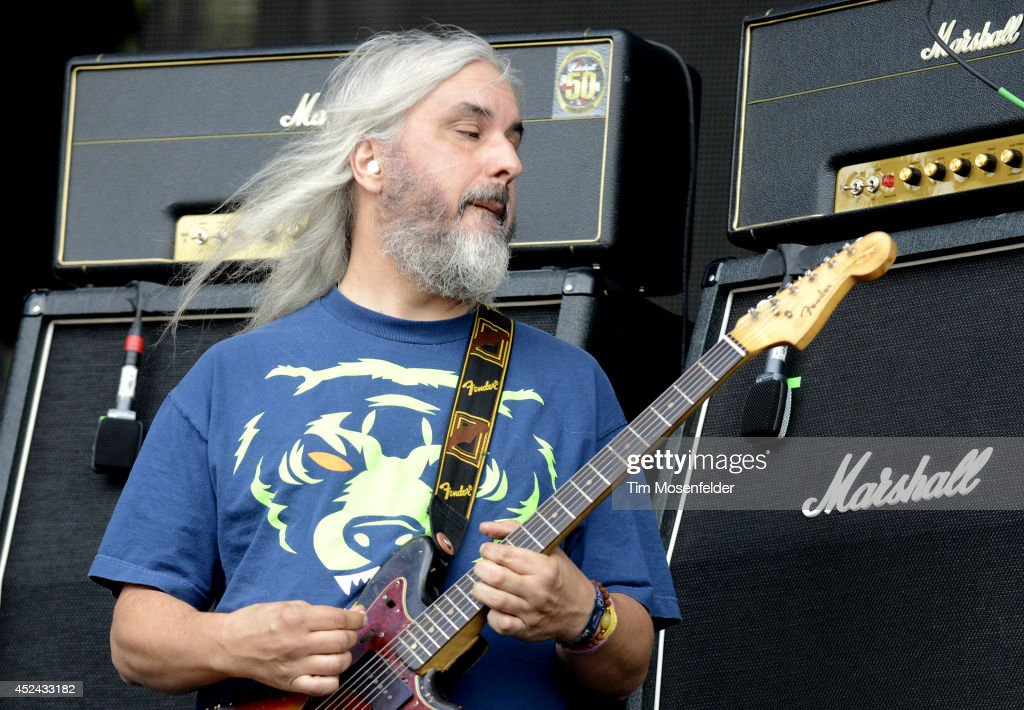 J Mascis of Dinosaur Jr. performs during the Pemberton Music and Arts Festival at on July 19, 2014 in Pemberton, British Columbia.