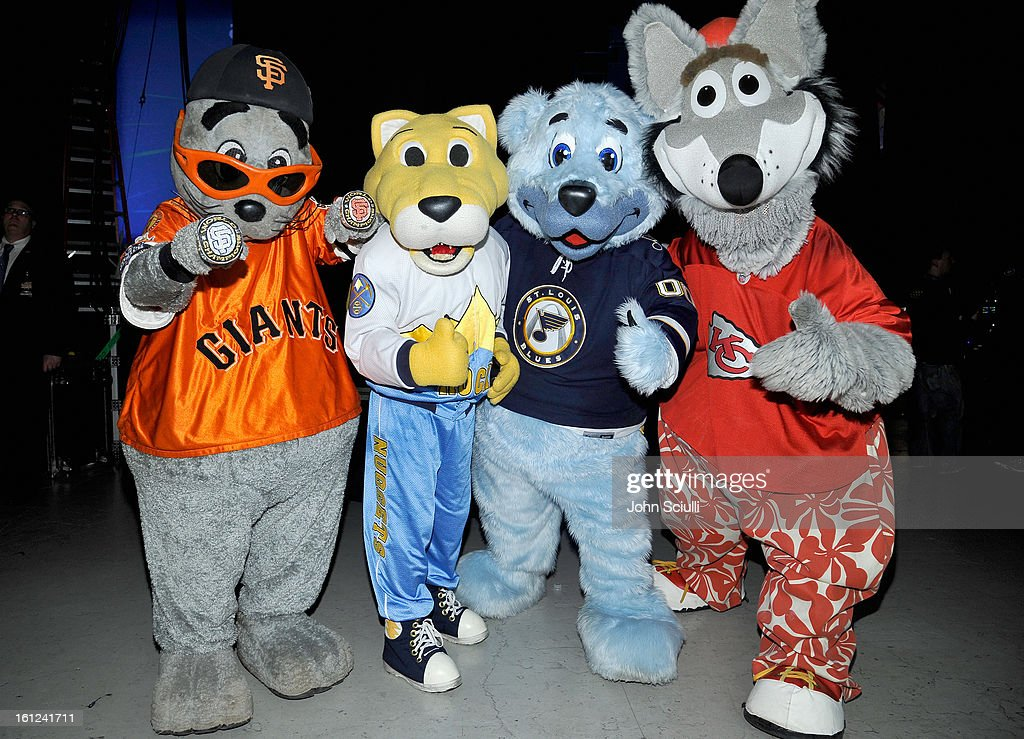 Mascots attend the Third Annual Hall of Game Awards hosted by Cartoon Network at Barker Hangar on February 9, 2013 in Santa Monica, California. 23270_004_JS_0347.JPG