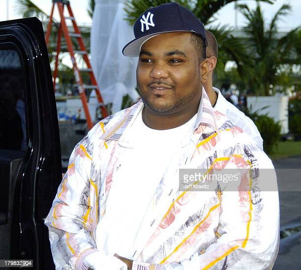 Maseo of De La Soul during 2004 MTV Video Music Awards Red Carpet at American Airlines Arena in Miami Florida United States