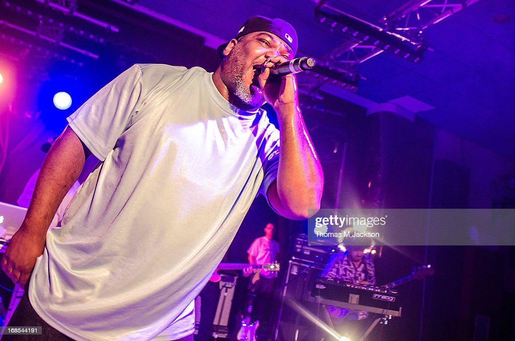 Maseo of De La Soul performs on stage on Day 1 of the ATP Weekender curated by TV On The Radio on May 10, 2013 in Camber, United Kingdom.