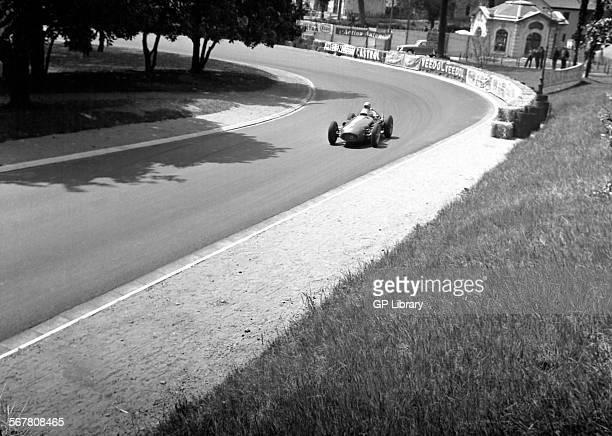 Maserati 250F racing car at Pau